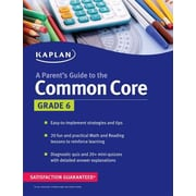 A Parent's Guide to the Common Core, Grade 6, Paperback (9781618658197)