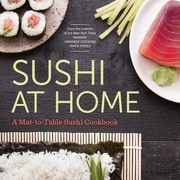 Sushi at Home: A Mat-To-Table Sushi Cookbook, Paperback (9781623155971)