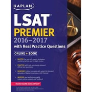 Kaplan LSAT Premier 2016-2017, Paperback (9781625231307)