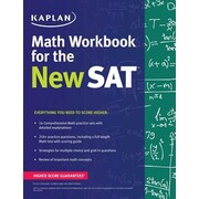 Kaplan Math Workbook for the New SAT, Paperback (9781625231550)