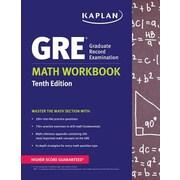 GRE Math Workbook, 0010, Paperback (9781625232991)