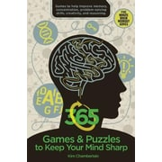 365 Games & Puzzles to Keep Your Mind Sharp, Paperback (9781634503556)