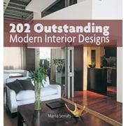 202 Outstanding Modern Interior Designs, Hardcover (9781770855700)