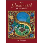 An Illuminated Alphabet: 26 Postcards, Paperback (9781851244133)