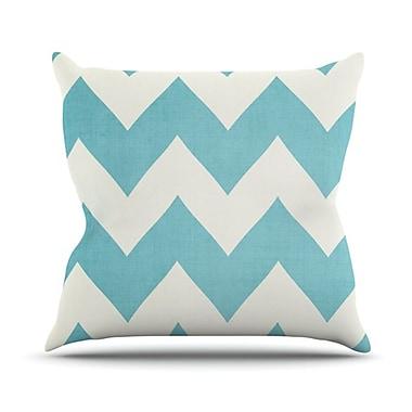 KESS InHouse Salt Water Cure Throw Pillow; 18'' H x 18'' W