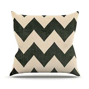 KESS InHouse Throw Pillow; 18'' H x 18'' W