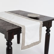 Saro Tuscany Two Tone Table Runner