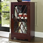 Powell Chippendale End Table; Red