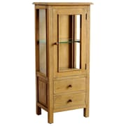 Casual Elements Curio Cabinet; Mango