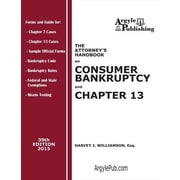 The Attorney's Handbook on Consumer Bankruptcy and Chapter 13: 39th Edition, 2015, Paperback (9781880730713)