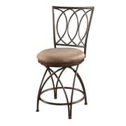 Powell Big and Tall 24'' Swivel Bar Stool