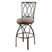 Powell Big and Tall 30'' Swivel Bar Stool