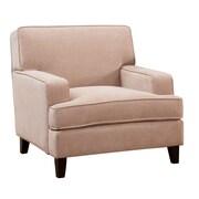 Hokku Designs Leyna Modern Arm Chair; Ivory