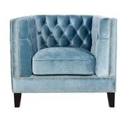 Pasargad Victoria Arm Chair; Light Blue