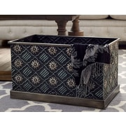 Household Essentials Chelsea Metal Storage Box; Large