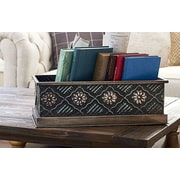Household Essentials Chelsea Metal Storage Box; Small