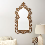 Household Essentials Scrolled Wall Mirror