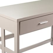 Wildon Home   Eckhart Craftsmen Desk in Gray
