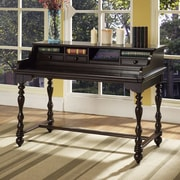 Fairfax Home Collections Barton Park Roll Top Desk with Smart Top; Delmont Cherry