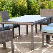 South Sea Rattan St Tropez Dining Table; Stone