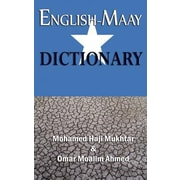 English-Maay Dictionary, Hardcover (9781905068890)