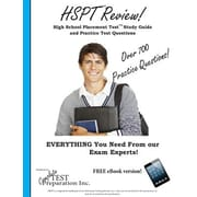 HSPT Review! High School Placement Test Study Guide and Practice Test Questions, Paperback (9781928077848)