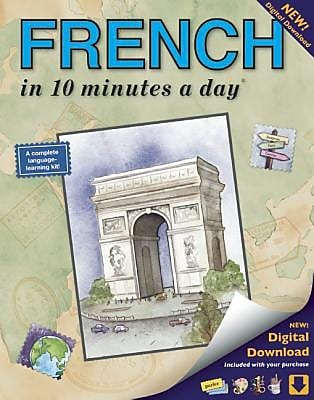 French in 10 Minutes a Day, Paperback (9781931873291) 2171005