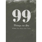 99 Things to Do, Hardcover (9781935414865)