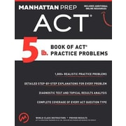 5 lb. Book of ACT Practice Problems, Paperback (9781941234501)