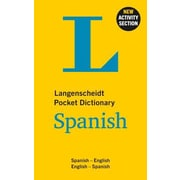 Langenscheidt Pocket Dictionary Spanish: Spanish-English/English-Spanish, 0002, Paperback (9783468981456)