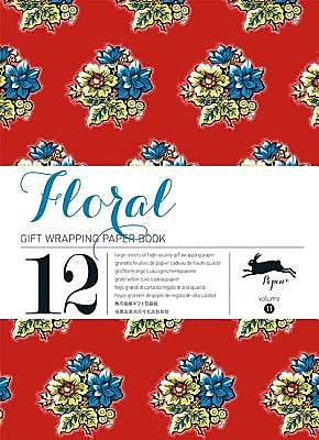 Floral: Gift Wrapping Paper Book Vol.11, Paperback