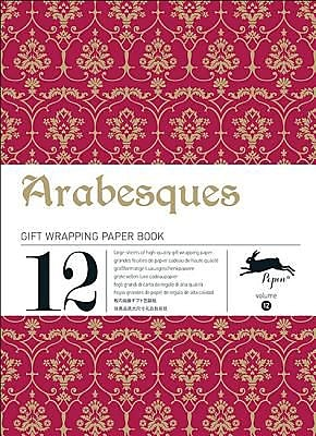 Arabesques: Gift Wrapping Paper Book Vol.12, Paperback