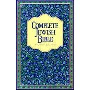 Complete Jewish Bible-OE, Hardcover (9789653590182)
