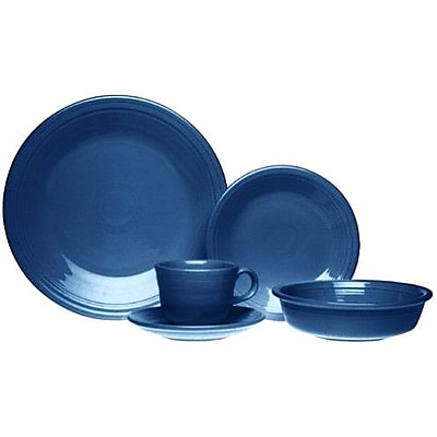 Fiesta 5 Piece Place Setting; Turquoise WYF078275427381