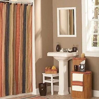 Retro Chic Bath Cotton Shower Curtain; 54'' x 78''