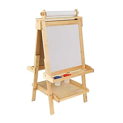 KidKraft Marker Tray Board Easel; Natural WYF078276307050