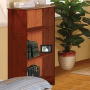 Discovery World Furniture Weston 42'' Bookcase; Merlot