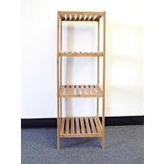 Proman Horizon 39'' Etagere Bookcase; 39'' H x 13'' W x 12 D''