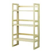 Casual Home Folding 37'' Standard Bookcase