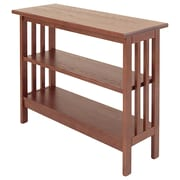 Manchester Wood Mission 24'' Etagere Bookcase; Chestnut