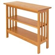 Manchester Wood Underwindow 24'' Standard Bookcase; Golden Oak