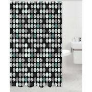 Daniels Bath Elton Polyester Shower Curtain