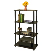 Wildon Home   43'' Etagere Bookcase; Dark Espresso