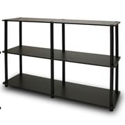 Wildon Home   29.5'' Accent Shelves Bookcase; Espresso / Black