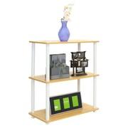 Wildon Home   29'' Etagere Bookcase; Beech / White