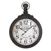 Cole & Grey Wood Wall Clock