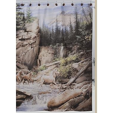 Creative Bath Horse Canyon Shower Curtain