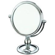 AdecoTrading Round Double Sided Makeup Cosmetic Mirror