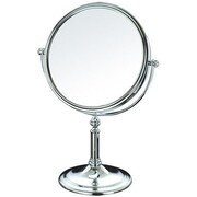 AdecoTrading Double Sided Makeup Cosmetic Mirror Swivel Head