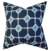 The Pillow Collection Kyd Geometric Cotton Throw Pillow; 18'' x 18''